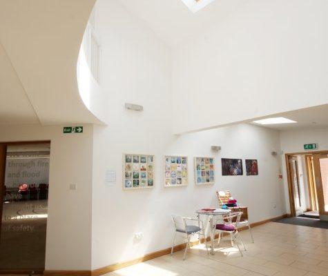 CRGP Langside Parish Church 4 foyer