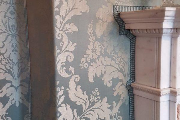 CRGP Mellerstain House Drawing Room Silk Wall Coverings 01