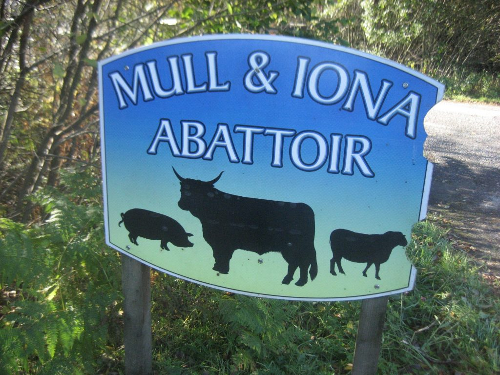 CRGP mull and iona abattoir